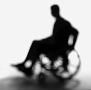 Shadow of person in wheelchair - Chicago personal injury lawyers