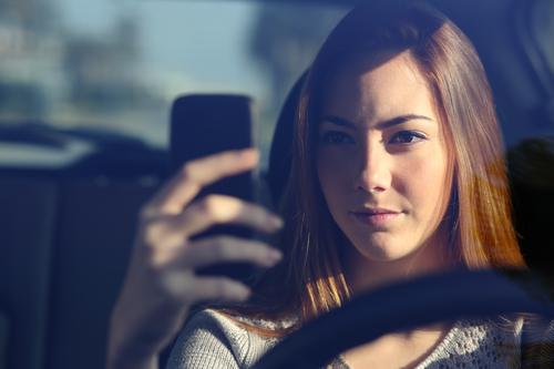 snapchat and driving