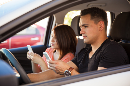 Higher Insurance Rates Because of Distracted Driving