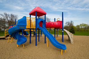 Playground Slide and recalled toys